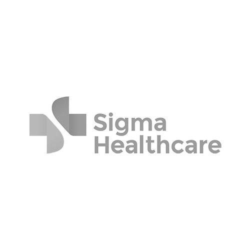 Sigma Healthcare logo Grey